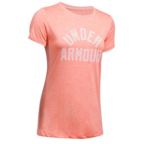 68b73c7a Under Armour Tops | Twist Tech Short Sleeve Shirt Large | Poshmark